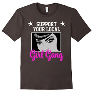 girlgangwhiteasphalt
