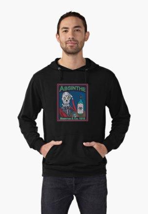 Lightweight hoodie - $45