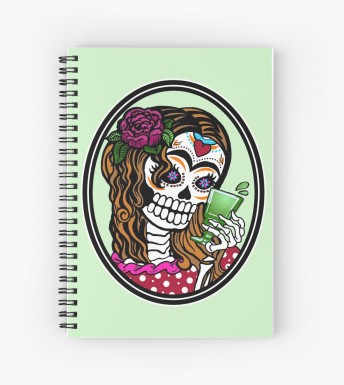 Spiral-bound journal - $12